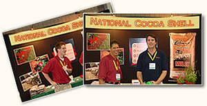 National Cocoa Shell Booth at the World's Showcase of Horticulture